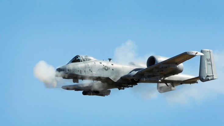 The Fight Runs Deep: A-10 Thunderbolt II Gatling Gun Test | World War Wings Videos