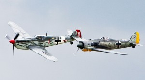 Enemies Become Friends: B-17 Flying Fortress And Focke Wulf 190