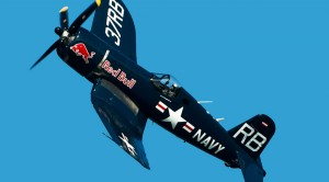 Corsair And Her Pilot Fly As One: Awesome Maneuvering