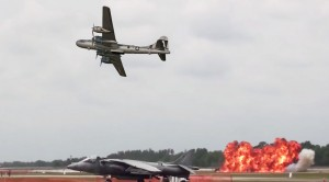 Fifi Gives Us A Fiery Show: B-29 Bomber During Sun N Fun Fly-in Show