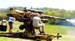 Hell From Below: Firing A German Flak 36