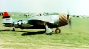 Actual WWII Thunderbolts: Restored And Colorized Footage