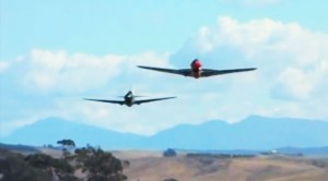 Kittyhawk Chasing  Tail: Low And Fast Flybys