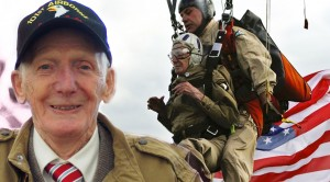 "Vet Jim ""Pee Wee"" Martin, 93, Jumps From A Plane On D-Day"