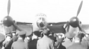 A Plywood Bomber: Vintage Newsreel Of The Unveil