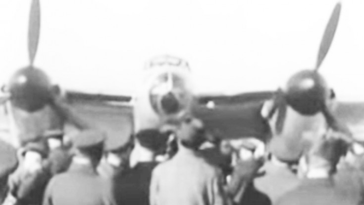 A Plywood Bomber: Vintage Newsreel Of The Unveil | World War Wings Videos