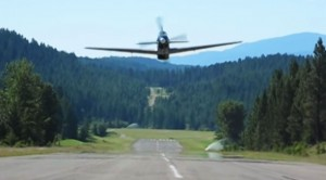Ingredients Of The Best Flyby: Your Own P-51 And Airstrip
