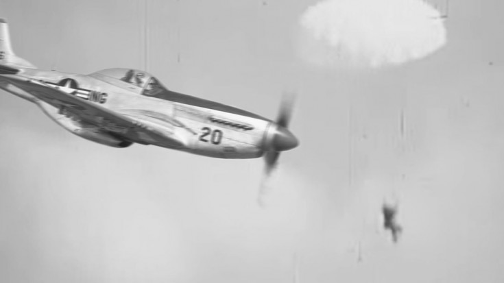 P-51 Gun Camera: Restored And Colored WWII Footage - World War Wings