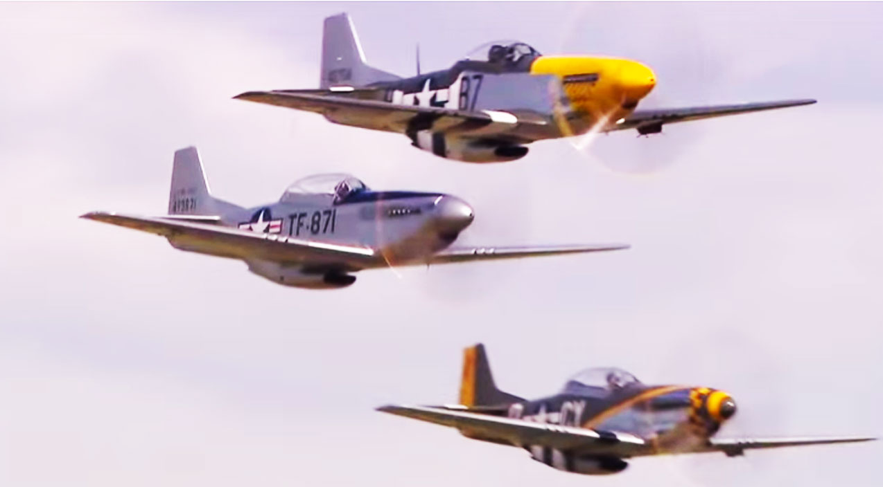 Mustang Madness: Awesome Sound And Camerawork - World War ...