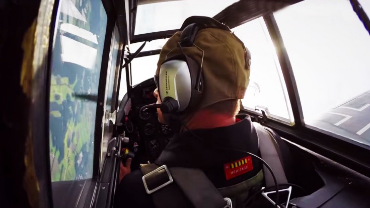Red Seven Bf 109 G4: Cockpit Footage | World War Wings Videos