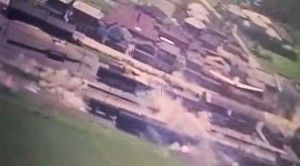 Intense Industrial Strafing: 1945 Restored Color Footage