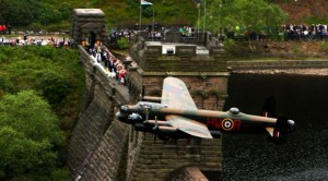 The Most Scenic Flyby Ever: Two Lancasters Over A Reservoir