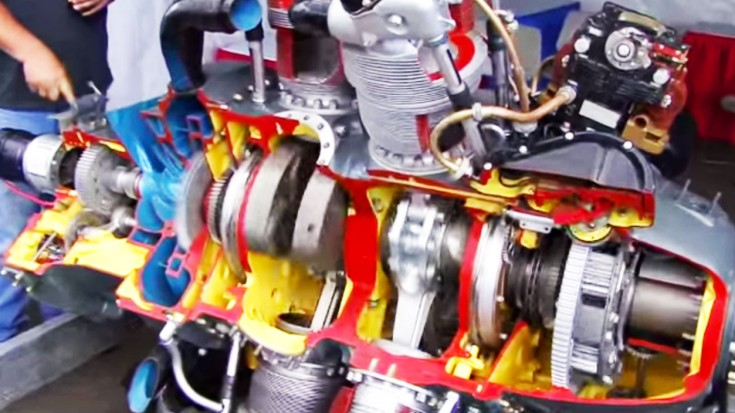 Pratt & Whitney R-2800 Double Wasp Cutaway: How It Works