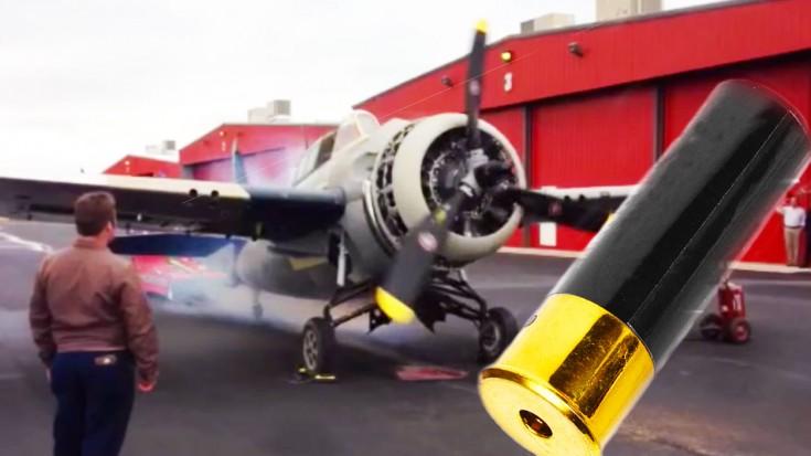 They Start Up A Wildcat With…A Shotgun Shell | World War Wings Videos