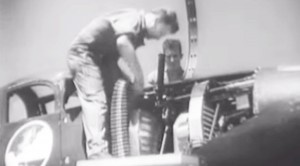 Airacobras Live Fire Practice: Incredible 1941 Footage