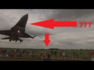 F-16 Coming In Too Close For Comfort