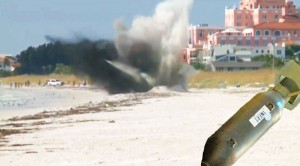 WWII Era Flashbomb Detonated On Florida Beach