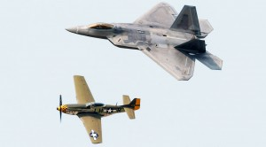 Air Superiority: Mustang And Raptor Side By Side