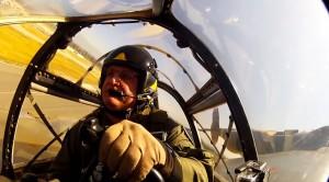 Fantastic P-38 Lightning Interior/Exterior Footage
