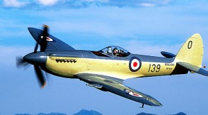 This Seafire Is Owned By A Man Who Can Fly It However He Wants!
