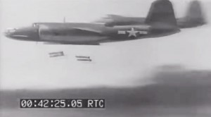 Skip Bombing: 40s Newsreel Of New War Tactics