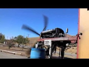 This P51 Mustang – Merlin Engine Test Is Glorious