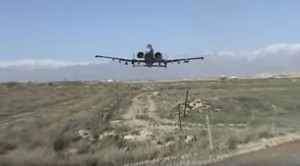 A-10 Gives Cameraman More Than He Bargained For