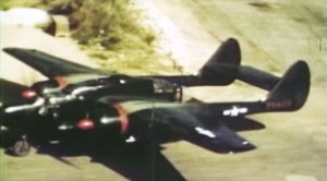 The Only Color Footage Of WWII's P-61 Black Widow