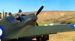 P-40 Kittyhawk Testing Her Machine Guns Will Make Your Day