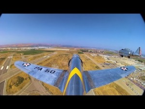 Missing Man Formation Done By WWII's Finest Warbirds