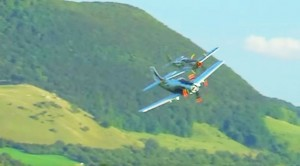 Skyraider And Mustang Show Off What They're Made Of