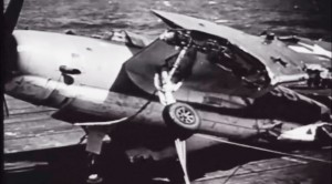 Typhoon Tosses Planes Like Matchsticks: Intense WWII Footage
