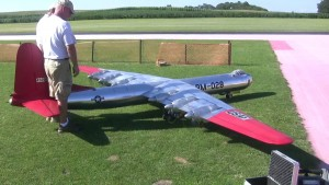 You've Got To Check Out This Massive  Rc B-36 Video