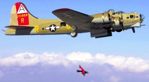 They Put Four Cameras On A B-17 To Give You The Best Shots Of These Daredevils