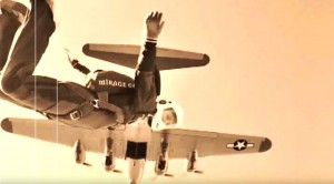 This 'Vintage' Clip Of Skydiving Out Of A B-17 Will Make You Smile
