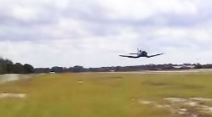 This Corsair Pilot Gets Low. Really Low.