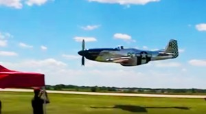 This P-51 Low Flyby Is Awesome, But The Guy's Reaction Is Priceless