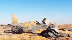 A P-40 Is Found In The Sahara Desert, But Are The Remains Those Of The Pilot?