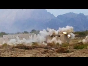 20mm Strafing Run of F/A-18 On Taliban Compound
