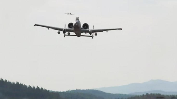 2 A-10s Surprise These Guys And Make Their Day | World War Wings Videos