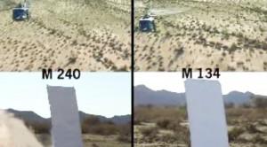 Which is Better? M134 Gatling Gun vs. M240