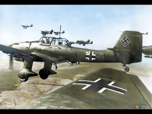 Stukas Dive Bombing As You've Never Seen It