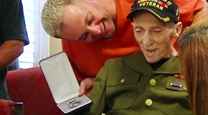 At 93, Vet Gets Purple Heart But You Won't BELIEVE Why It Took So Long