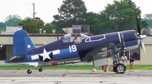 A Corsair, Spit, Three Mustangs and This Rare Warbird Get All Fired Up