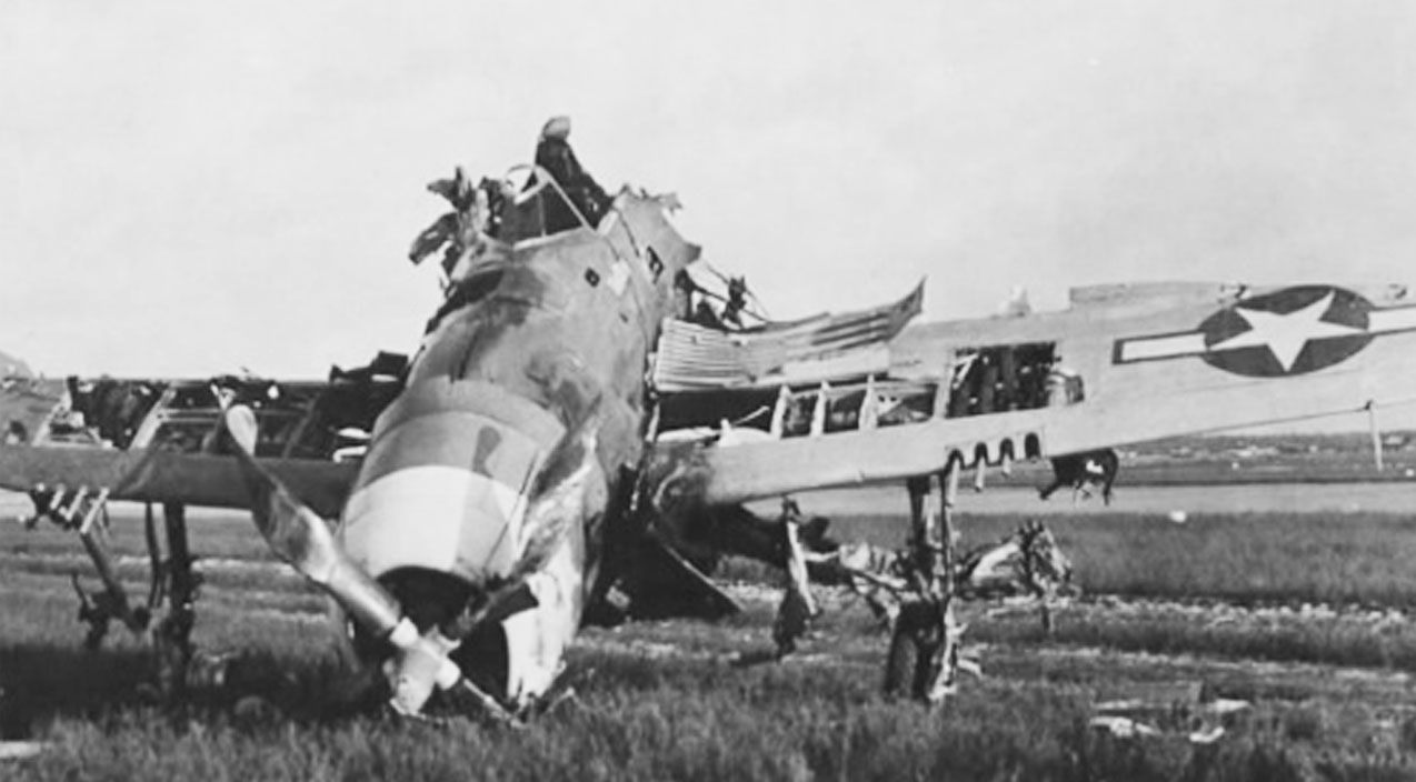 Image result for P-47 bomb exploded