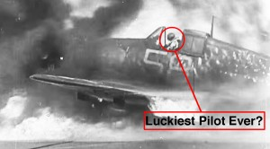 Footage Of Pilot's Hellcat Bursting Into Flames And The Miracle Afterwards