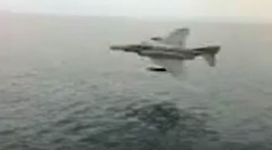 F-4 Phantom Gets Super Low, Just Inches Above Water in This Killer Clip