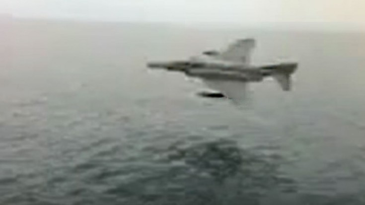 F-4 Phantom Gets Super Low, Just Inches Above Water in This Killer Clip | World War Wings Videos