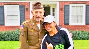 WWII Vet Cheered On Runners But What Happened Next Will Melt Your Heart