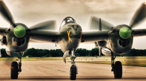 This P-38 Lightning Is Joined By A Rare British Bomber